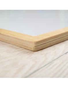 Tabla magnetica cu rama din lemn
