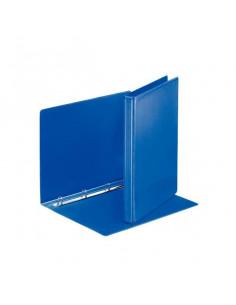 Caiet Mecanic Esselte A4, 4 Inele 30 mm Panorama Leitz, Albastru