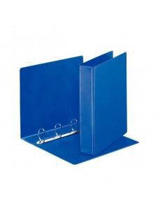 Caiet Mecanic Esselte A4, 4 Inele 62 mm Panorama, Albastru