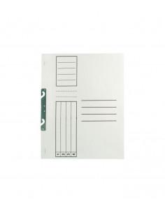 Set 100buc Dosar Standard, alb, incopciat 1/1, A4, carton