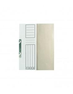Set 100buc Dosar Standard alb, incopciat 1/2, A4, carton