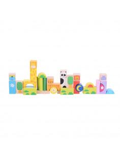 Cuburi pentru construit - Safari