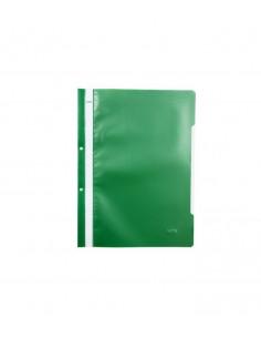 Dosar sina plastic cu perforatii Noki verde