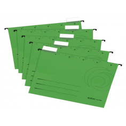 Dosar Suspendat Herlitz A4 Carton Set 5 Verde