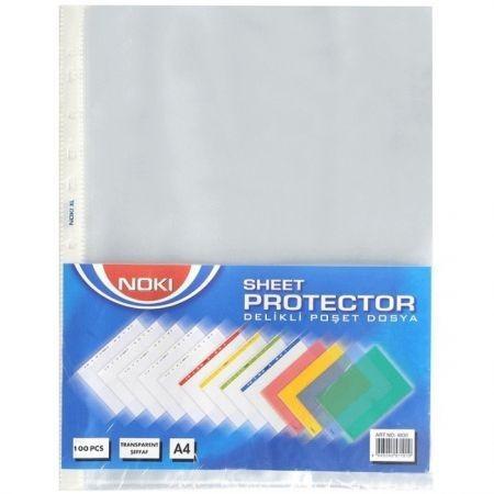 Folie de protectie Noki Cristal, 90 microni, A4, 100 folii/set