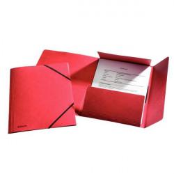 Mapa Carton Esselte Cu Elastic Lux, rosu