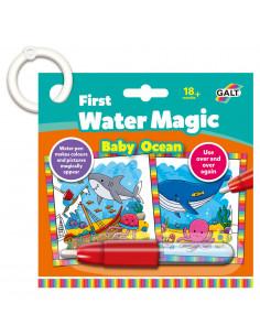 Baby Water Magic: Carte de colorat In ocean