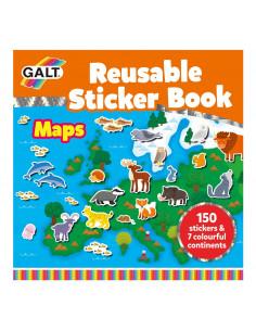 Cartea mea cu stickere - Harta
