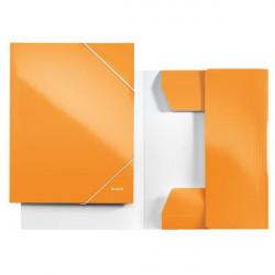 Mapa Carton Leitz Cu Elastic Wow, portocaliu