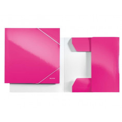 Mapa Carton Leitz Cu Elastic Wow, roz