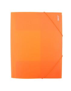 Mapa Plastic Daco Cu Elastic Mp250, portocaliu