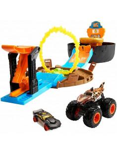 Pista de masini Hot Wheels by Mattel Monster Truck Stunt Tire
