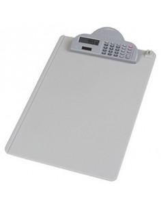 Clipboard Simplu Deli 9259 Cu Calculator Si Suport Pix - Gri