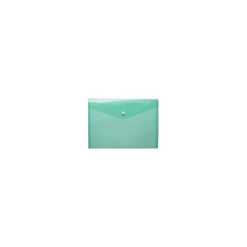 Mapa Plastic Cu Buton A4 - Verde