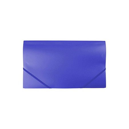Mapa Plastic Cu Elastic A4 - Albastra