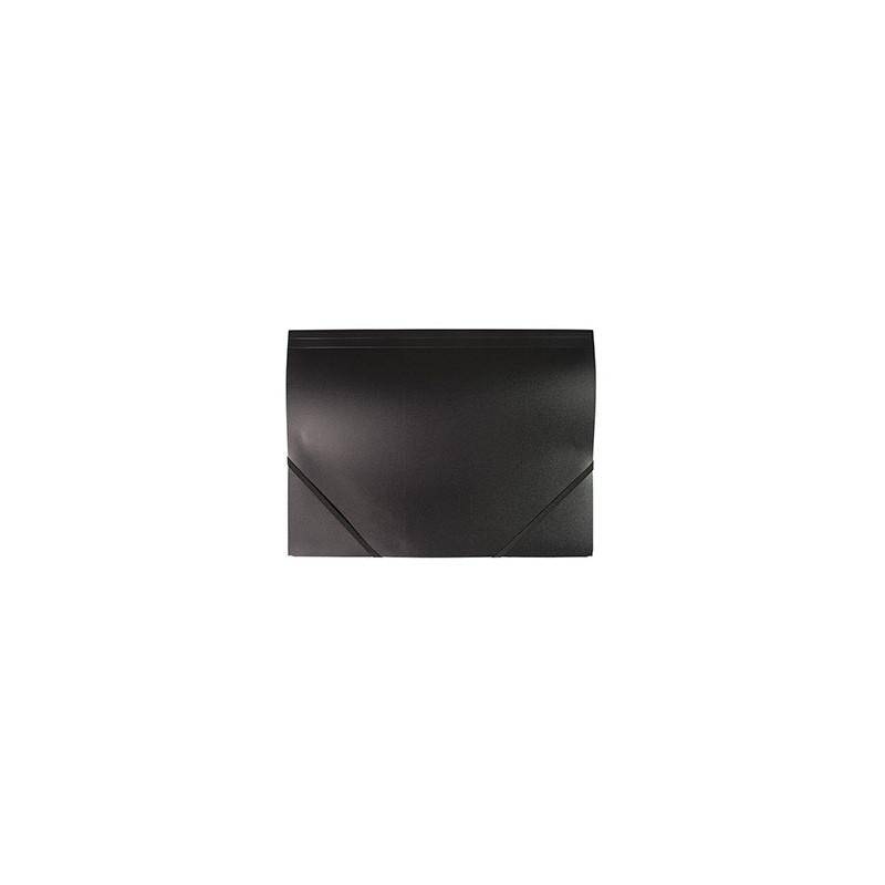 Mapa Plastic Cu Elastic A4 - Neagra