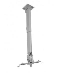 Suport videoproiector tavan EATV2, alb, reglabil, 43-65