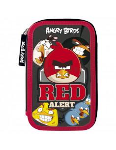 Penar echipat, 3 fermoare, cu motiv Angry Birds