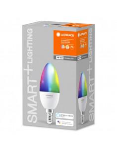 Bec Led Ledvance SMART+ WiFi Candle Multicolour, E14, 5W (40W)