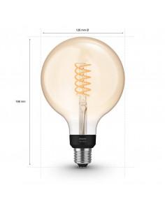 Bec LED inteligent vintage Philips Filament Globe