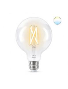 Bec LED inteligent vintage WiZ Filament Whites, Wi-Fi, G95
