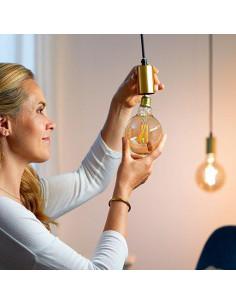 Bec LED inteligent vintage auriu WiZ Filament Whites, Wi-fi