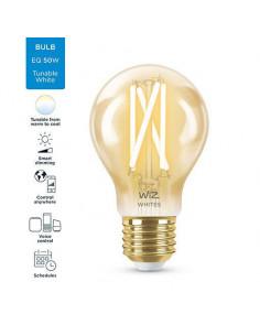 Bec LED inteligent vintage WiZ Filament Whites, Wi-fi, A60
