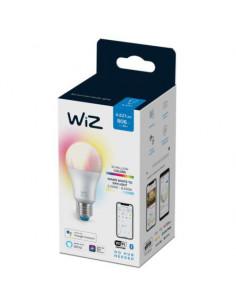 Bec LED RGBW inteligent WiZ Colors, Wi-Fi, A67, E27, 8W (60W)