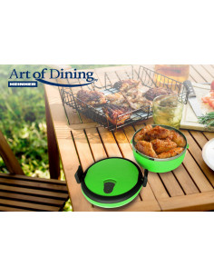 CASEROLA TERMICA , 0.7 L, VERDE, ART OF DINING BY