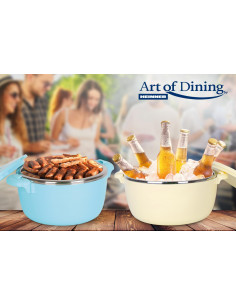 CASEROLA TERMICA 8L,ALBASTRA, ART OF DINING BY