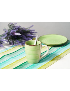 CANA CERAMICA 354 ML, GALA GREEN,ART OF DINING BY