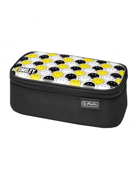 Penar etui Herlitz Be.Bag Beat Box Motiv Smileyblack Yellow