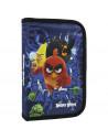 Penar neechipat, 1 fermoar, cu motiv Angry Birds, albastru