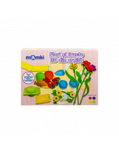 Flori si fructe 3D din