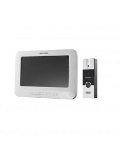 Set videointerfon color Hikvision DS-KIS202, montaj pe 4fire