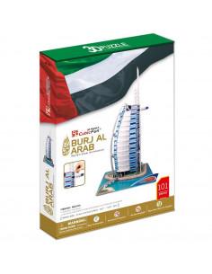 PUZZLE 3D BURJ AL ARAB (NIVEL COMPLEX 101 PIESE)