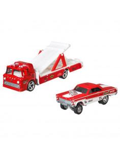 Camion Hot Wheels by Mattel Car Culture Ford C-800 cu masina