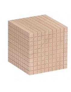 Cub - element suplimentar pentru sistemul zecimal din lemn