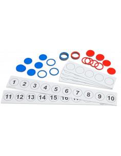 Set demonstrativ magnetic pentru numarare pana la 20