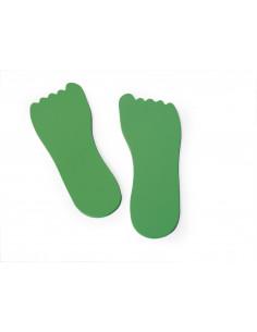 Set de 12 urme de picioare din EVA
