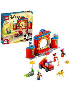 Lego Mickey And Friends Statia Si Camionul De Pompieri Ale Lui