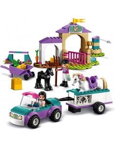 Lego Friends Dresaj De Cai Si Remorca 41441