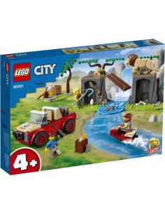 Lego City Masina De Teren Pentru Salvarea Animalelor Salbatice