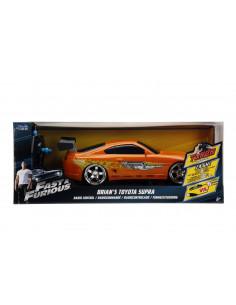 Masinuta Metalica Cu Telecomanda Fast Furious Rc Brian's Toyota