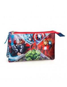 Set scoala Avengers - Ghiozdan, Penar echipat, Penar etui