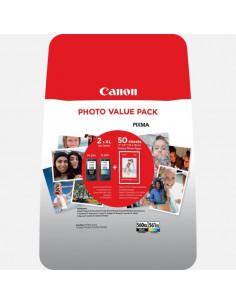 Set cartuse cerneala XL + hartie foto Canon PG-560XL / CL-561XL PHOTO VALUE BL
