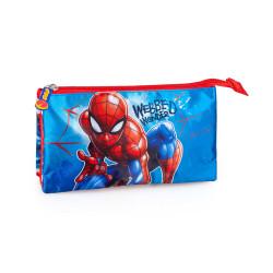 Set gradinita Spiderman. - Ghiozdan gradinita, Penar etui