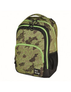RUCSAC BE.BAG, MODEL BE.READY, DIMENSIUNE 46X33X23 CM, MOTIV ABSTRACT CAMOUFLAGE