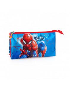 Penar etui JMInacio cu fermoar motiv Spiderman