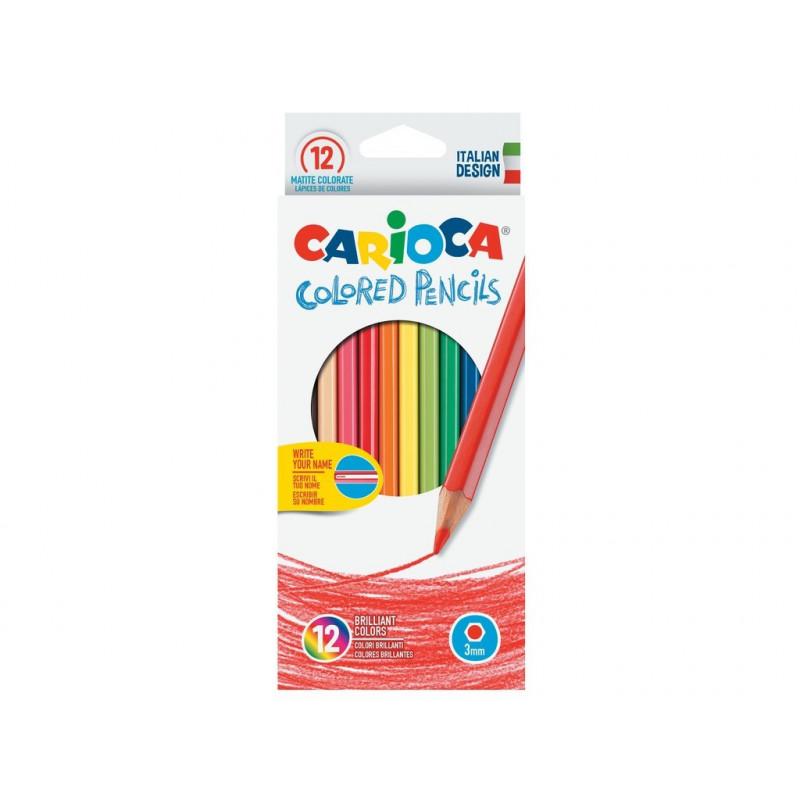 Creioane Colorate Carioca, 12/Set